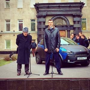 Ё-мобиль для Жириновского