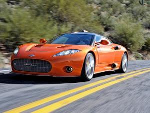 Производитель спорткаров Spyker обанкротился