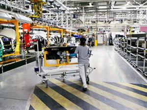 Российский завод PSA и Mitsubishi остановился