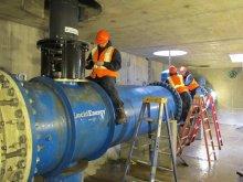 Гидроэлектростанции в системе городского водопровода штата Орегон