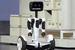Intel показала роботизированный ховерборд