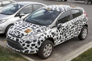 Ford Fiesta кросс станет конкурентом Lada Xray
